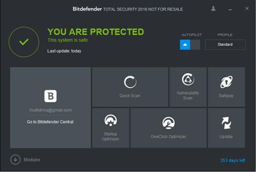 BitDefender Antivirus 25.0.10.52 Crack + License Key Download 2021