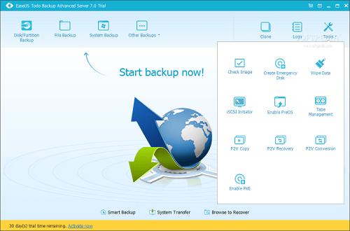 EaseUS Todo Backup Advanced Server 13.5.0.0 Crack + Activation Code