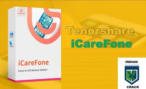 Tenorshare iCareFone 7.5.3 Crack + Serial Key 2021 [Latest]