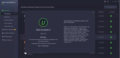 IObit Uninstaller Pro Crack 10.5.0.5 + Key Download [Latest] 2021