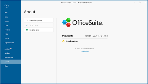 OfficeSuite Premium 5.50.39530 Crack + Activation Key Download 2021