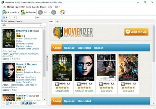 Movienizer 10.3 Build 620 With Crack Full Version 2021 [Latest]